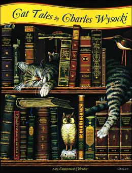 2005 Cat Tales by Charles Wysocki Engagement Calendar