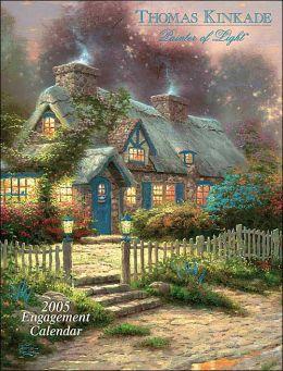 2005 Thomas Kinkade Painter of Light Engagement Calendar