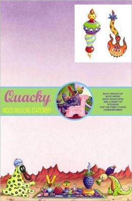 Dark Horse Deluxe Stationery Exotique: Jim Woodring's Quacky
