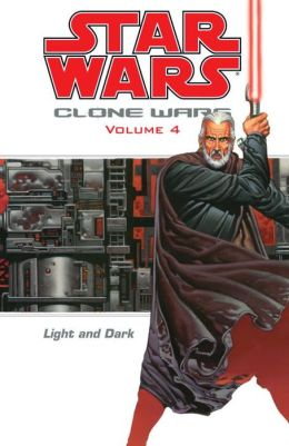 Star Wars Clone Wars, Volume #4: Light and Dark