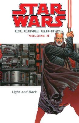 Star Wars Clone Wars, Volume #4: Light and Dark