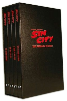 Sin City:The Frank Miller Library, Set I (4 Volume Set)