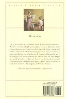 Persuasion (Barnes & Noble Classics Series)