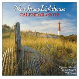 2012 New Jersey Lighthouse Wall Calendar