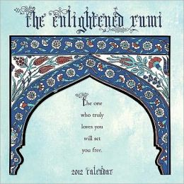 2012 Enlightened Rumi Wall Calendar