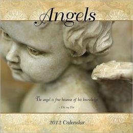 2012 Angels Mini Wall Calendar