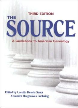Source: A Guidebook to American Genealogy