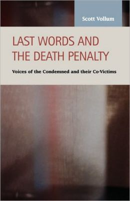 Last Words And The Death Penalty