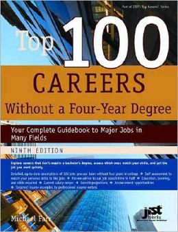 Top 100 Careers Without a Four-Year Degree