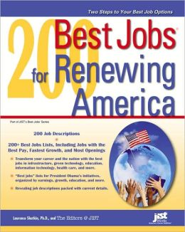 200 Best Jobs for Renewing America