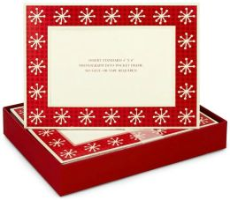Dots & Snowflakes Christmas Boxed Card