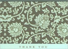 Acadian Tapestry Thank You Note Cards Set of 14