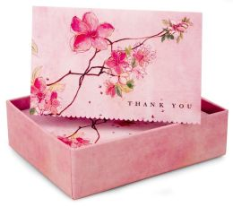 Blossoming Branches Thank You Notes Set Of 14