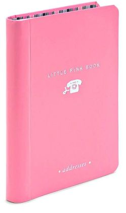 Little Pink Book of Addresses Pocket Address Book