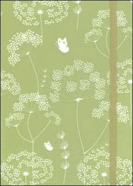 Queen Anne's Lace Journal Green/White 5x7