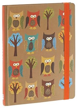 Owls Bound Lined Journal 6