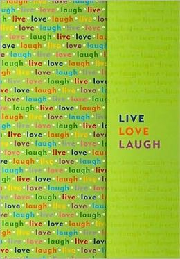 Live, Love, Laugh Writing Journal