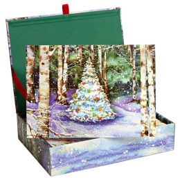 Festive Forest Christmas Boxed Card