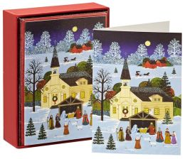 Country Nativity Christmas Boxed Cards