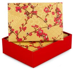 Japonica Note Card Set Of 14