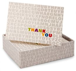 Alphabet Soup Thank You Notes Set Of 14