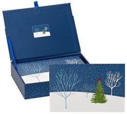 Midnight Cardinal Christmas Boxed Cards