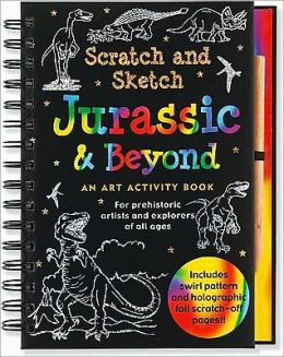 Scratch and Sketch Jurassic & Beyond