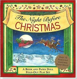 The Night Before Christmas Fold-Out Play Set