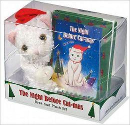 The Night Before Cat-Mas Mini Plush and Book Kit