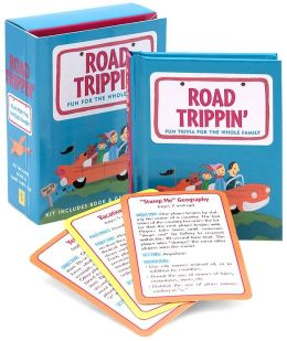 Road Trippin' Fun for the Whole Family: Book and Game Card Deck Set