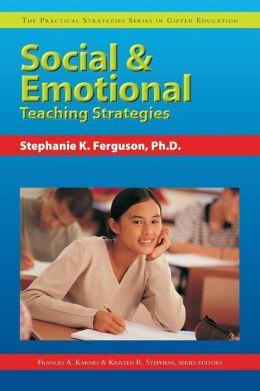 Social & Emotional Teaching Strategies
