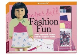 Paper Doll Fashion Fun: Make Paper Doll Clothes with the Supplies Inside!