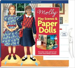 Molly Play Scenes & Paper Dolls