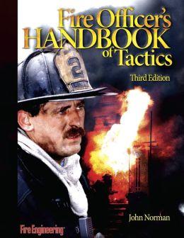 Fire Officer's Handbook of Tactics, 3rd Edition