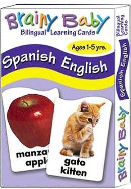 English/Spanish Flash Cards