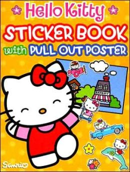 Hello Kitty Sticker Book: With Pull-out Poster with Sticker and Poster