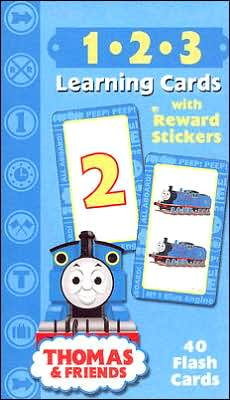 Thomas and Friends 1-2-3 Learning Cards