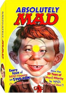 Absolutely Mad 53 Years Of Mad Magazine DVD-ROM