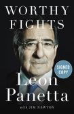 Book Cover Image. Title: Worthy Fights:  A Memoir of Leadership in War and Peace (Signed Book), Author: Leon Panetta
