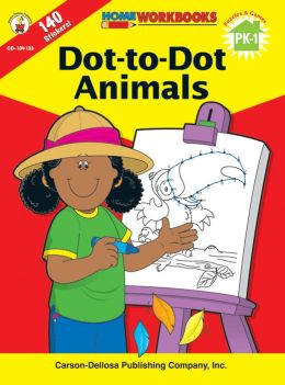 Dot-to-Dot Animals: Puzzles and Games