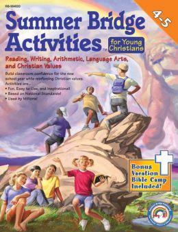 Summer Bridge Activities for Young Christians Gr 4-5