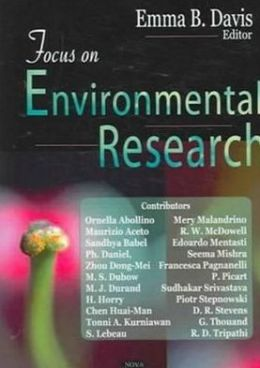 Focus on Environmental Research