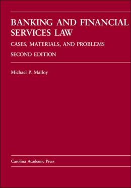 Banking and Financial Services Law Second Edition