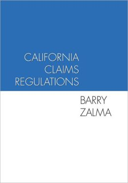California Claims Regulations