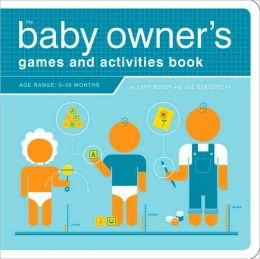 Baby Owner's Activities Book