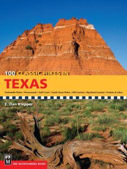 100 Classic Hikes Texas
