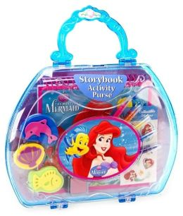 The Little Mermaid Storybook Activity Purse