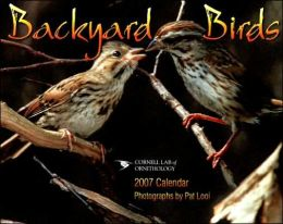 2007 Backyard Birds Wall Calendar