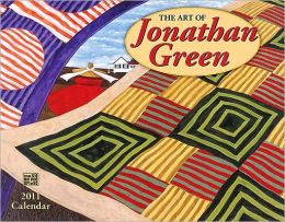 2011 Art of Jonathan Green Wall Calendar
