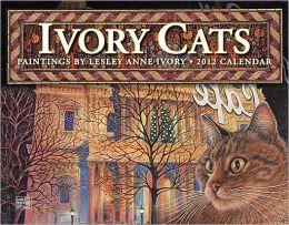 2012 Ivory Cats Wall Calendar